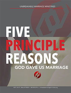 Five Principle Reasons God Gave Us Marriage